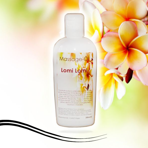 Massage-Öl  Lomi Lomi  200 ml