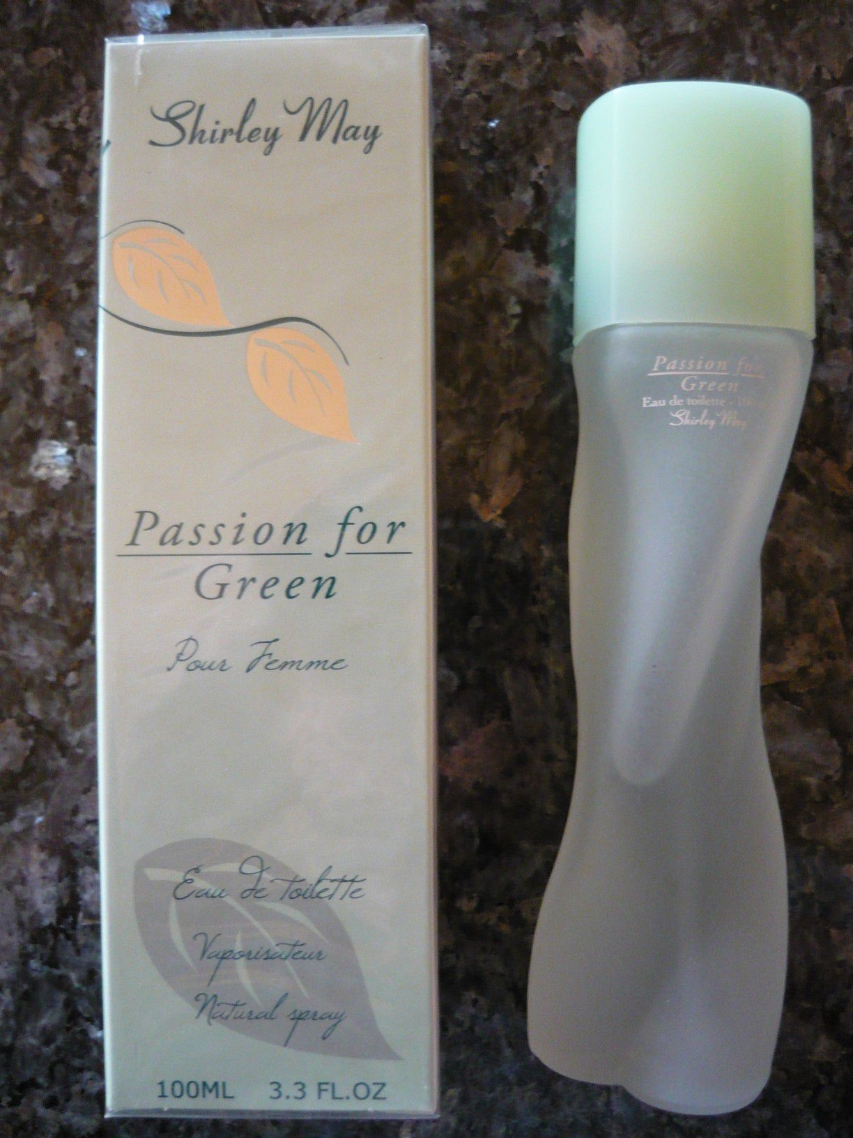 Shirley May  PASSION FOR GREEN   Eau de Toilette