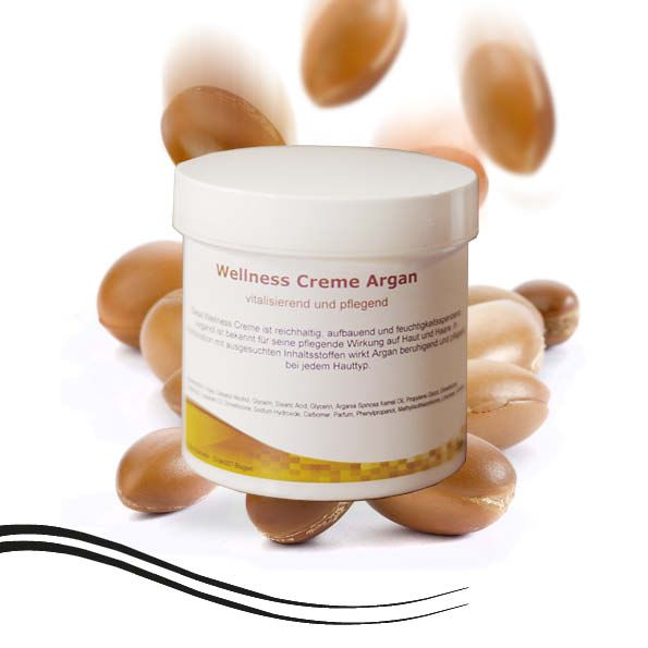 Wellness Massage Creme Argan  250 ml