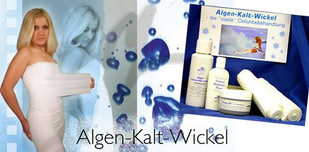 Informations-Flyer  Algo Cold Wrap / Algen Kalt-Wickel  50 Stück