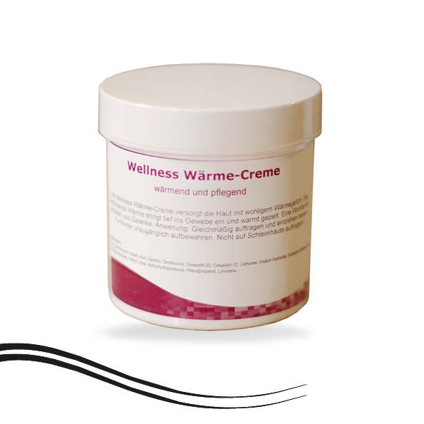 Wellness Massage Wärme-Creme 250 ml